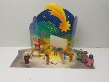 Playmobil Christmas Nativity Scene Set Wise Kings Men Jesus 5179