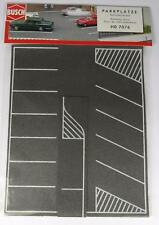 BNIB OO / HO BUSCH 7076 PARKING AREA / CAR PARK / ROAD Self Adhesive