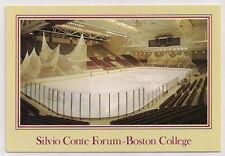 Silvio Conte Forum Boston College Hockey Arena Postcard