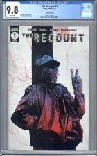 The Recount #1  Scout Comics Low Print Run  2nd Print   CGC 9.8