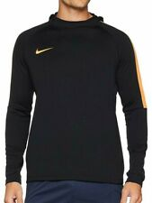 Nike Herren Dry Academy Hoodie Sweatshirt Langarmshirt mit Kapuze-NEU/Schwarz