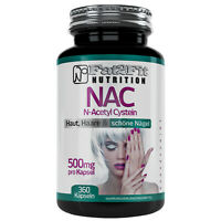 NAC N-Acetyl Cystein 360 Kapseln je 500mg Anti Aging Haut Haare Fingernägel