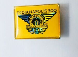 Indy 500 Vintage Indianapolis Champions Collection Yellow Gold Lapel Pin