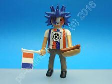 Playmobil 6840 Figures Series 10 Mann Fußball Fan + Hot Dog komplett (K-0114)