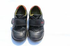 """Startrite Navy Blue Leather """"Creeper"""" Boys Shoes Size 7.5F UK (Child)"""