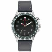 Ted Baker Oldfash GMT Silver Black