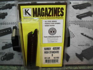 Triple K 405M Magazine for the High Standard Model B