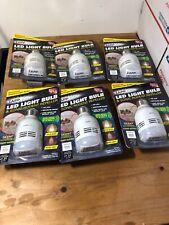 6X New Zapplight Led Light Bulb & Sonic Rodent Repeller &Led 600 Lumens