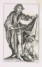 Heliogravure St. Martin & The Beggar by Schongauer -- Amand-Durand-1892