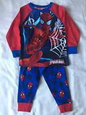 BNWT Marvel Ultimate Spiderman Bebé Chicos Conjuntos De Pijama Edad 18-23 meses