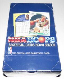 1990/91 NBA HOOPS Series 1 Basketball Box - Brand New Factory Sealed Box