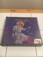METALLICA DAMAGE JUSTICE TOUR '88-'89 RARE  2 CD BOX SET