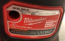 Milwaukee M18 18V Li-Ion Cordless 5 in. Random Orbit Sander 2648-20 tool only
