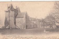 RENNES 183 le château de montmurau vue prise du préau timbrée 1902