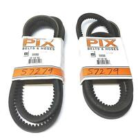 . Bando 5VX800 POWER ACE cogged drive belt $9 ea lot of 2 $18