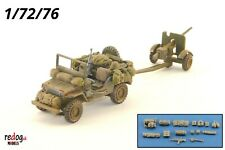 Redog 1/72 Willys Jeep - Military Scale Model Stowage Kit