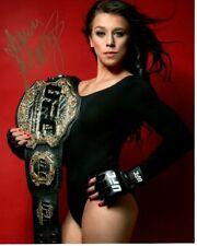 JOANNA JEDRZEJCZYK Signed Autographed UFC MMA Photo
