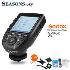 Godox XPro-C 2.4G E-TTL Wireless Flash Trigger For Canon EOS DSLR Cameras