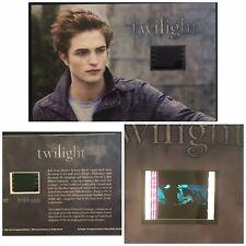 Twilight Robert Pattinson Kristen Stewart Limited Edition #2 Film Cell Numbered