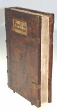 COMPLETE INCUNABLE MEFFRET SERMONES GOTHIC CHAIN BINDING KESSLER BASLE 1483