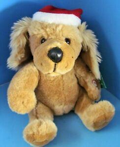 "Seymour Mann ""We Wish You a Merry Christmas"" Animated Dog Works w/Tag 10"" L@@K"
