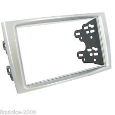 CT23PE05 PEUGEOT 308 2007 to 2014 SILVER DOUBLE DIN FACIA ADAPTOR PANEL ADAPTER