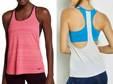 Nike Loose Support Built in Bra Training Running Gym Tank Top