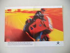 advertising Pubblicità 1998 MOTO BMW K 1200 RS