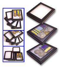 1 Glass Display Case British Masonic Masons Craft Badge Single Medal Jewel Badge