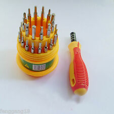 31 in 1 Cellphone Screwdriver Precision Tool Set Repair Kit Tools T3 T4 T5 T6 T7