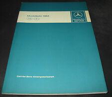 Werkstatthandbuch Mercedes W 126 S-Klasse W 201 190 E R 107 SL Motor Getriebe
