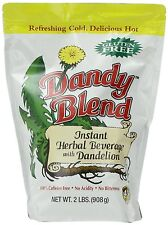 Dandy Blend, Instant Herbal Beverage with Dandelion, 2 lb. Bag, New