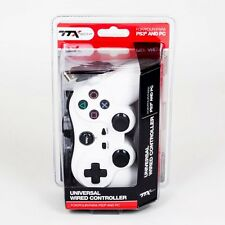 NUOVO TTX TECH CONTROLLER PER PS3 O PC USB (SONY PLAYSTATION 3) - Bianco