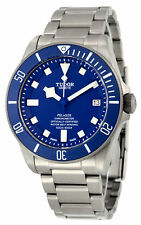 Tudor Pelagos Blue Dial Automatic Titanium Mens Watch 25600TB-BLTI