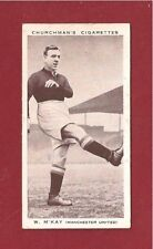 Manchester United FC BILL McKAY MUFC The Reds  Bolton Stockport 1938 photo card