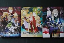 JAPAN Type-Moon,Siduki Morii manga LOT: Fate/strange Fake vol.1~3 Set