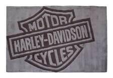 Harley-Davidson Bar & Shield Large Area Rug - Deep Gray Acrylic HDL-19502