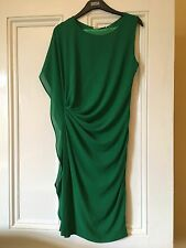 GREEN RUCHED DRESS M/L TOWIE PARTY SUMMER FESTIVAL NEW RRP £50