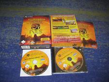 Enfants du Nil et complémentaire CD Immortal Cities PC allemand par le PHARAON créateurs