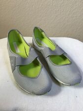 New Balance 101 Women's Walking Flats Athletic Shoes Gray/Lime Green Size 7