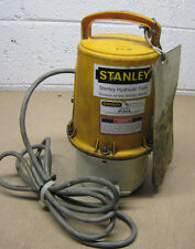 STANLEY MODEL IP14115 IP14 115V HYDRAULIC PUMP FOR HAND HELD HYDRAULIC TOOLS