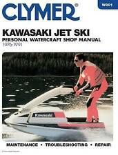 CLYMER Kawasaki Jet Ski, 1976-91 WORK SHOP MANUAL MAINTENANCE BOOK