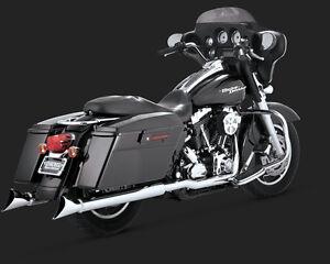 Vance & Hines 16799 Dresser Duals Harley Touring Dresser Models 1995-2008