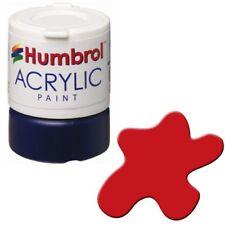 Humbrol 19 Acrylic Red Gloss New 12ml Pot - T48 Post
