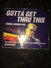 Daniel Bedingfield - Gotta get thru this - CD Single