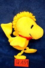 Peluche n°Q151: WOODSTOCK  (copain de Snoopy) 18cm env. PEANUTS