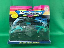 Micro Machines Star Trek: The Next Generation  (PACKAGE HAS SOME SHELF WEAR)