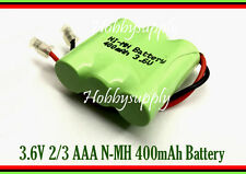 3.6V Ni-MH 2/3 400mAh AAA Rechargeable Battery w/. Universal plug for Home Phone