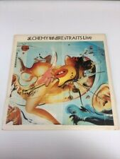 Alchemy Dire Straits Live LP Club Edition Warner Bros. W1-25085 VG 2 x LP Rock!