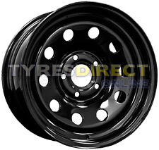 x4 16x7 BLACK MODULAR STEEL WHEELS - JEEP CHEROKEE 5x114.3 ET30